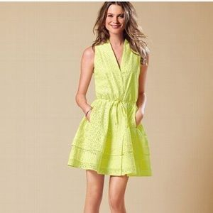 Victoria's Secret yellow eyelet dress NWT